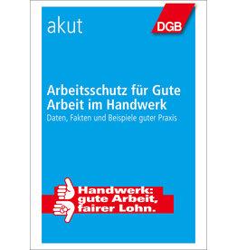 Broschüre Arbeitsschutz im Handwerk