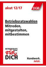 DGB-Broschüre Betriebsrat  Mitreden, mitgestalten, mitbestimmen