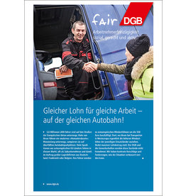 Broschüre Internationaler Straßentransport in Europa