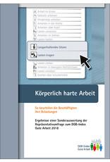 DGB Broschüre  Index Gute Arbeit  Körperlich harte Arbeit
