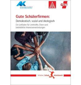 Broschüre Gute Schülerfirmen:  Demokratisch, sozial und ökologisch