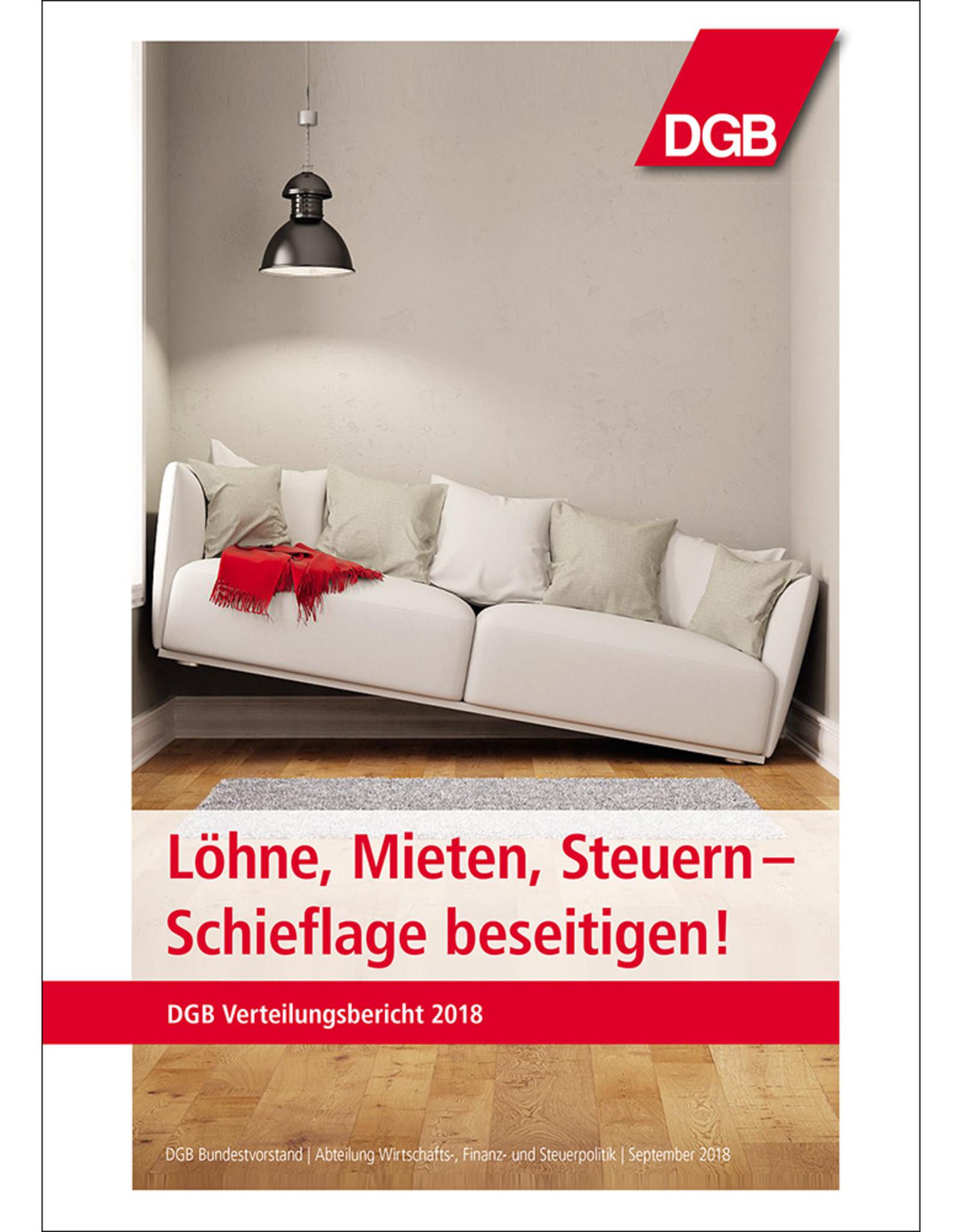 Broschüre Verteilungsbericht 2018