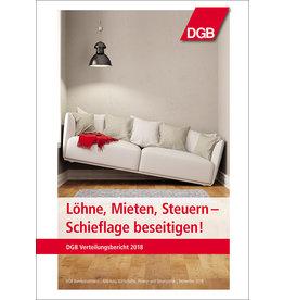 DGB Broschüre Verteilungsbericht 2018