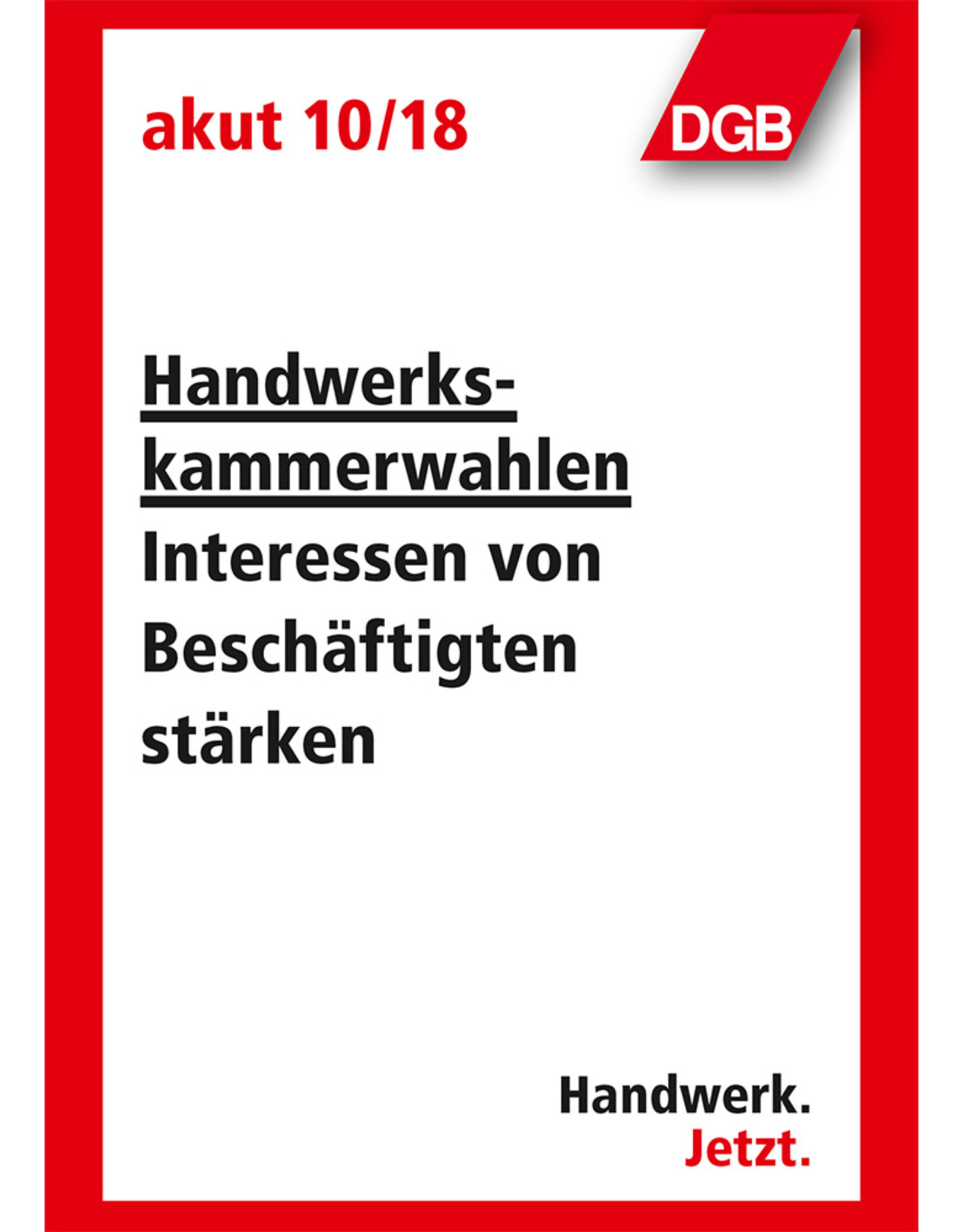 Broschüre akut 10/2018 (zu 320 Stk. im Karton)
