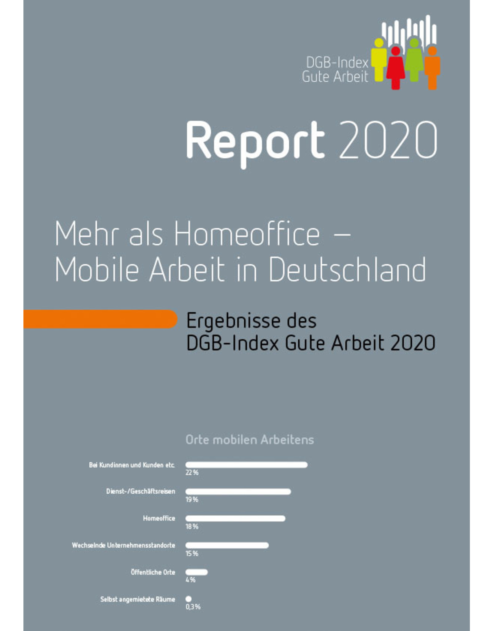 DGB-Broschüre / DGB-Index Gute Arbeit – Report 2020
