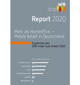 DGB-Index Gute Arbeit – Report 2020