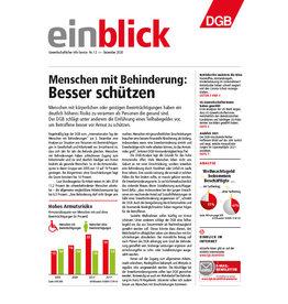 Zeitung einblick Dezember 12/2020
