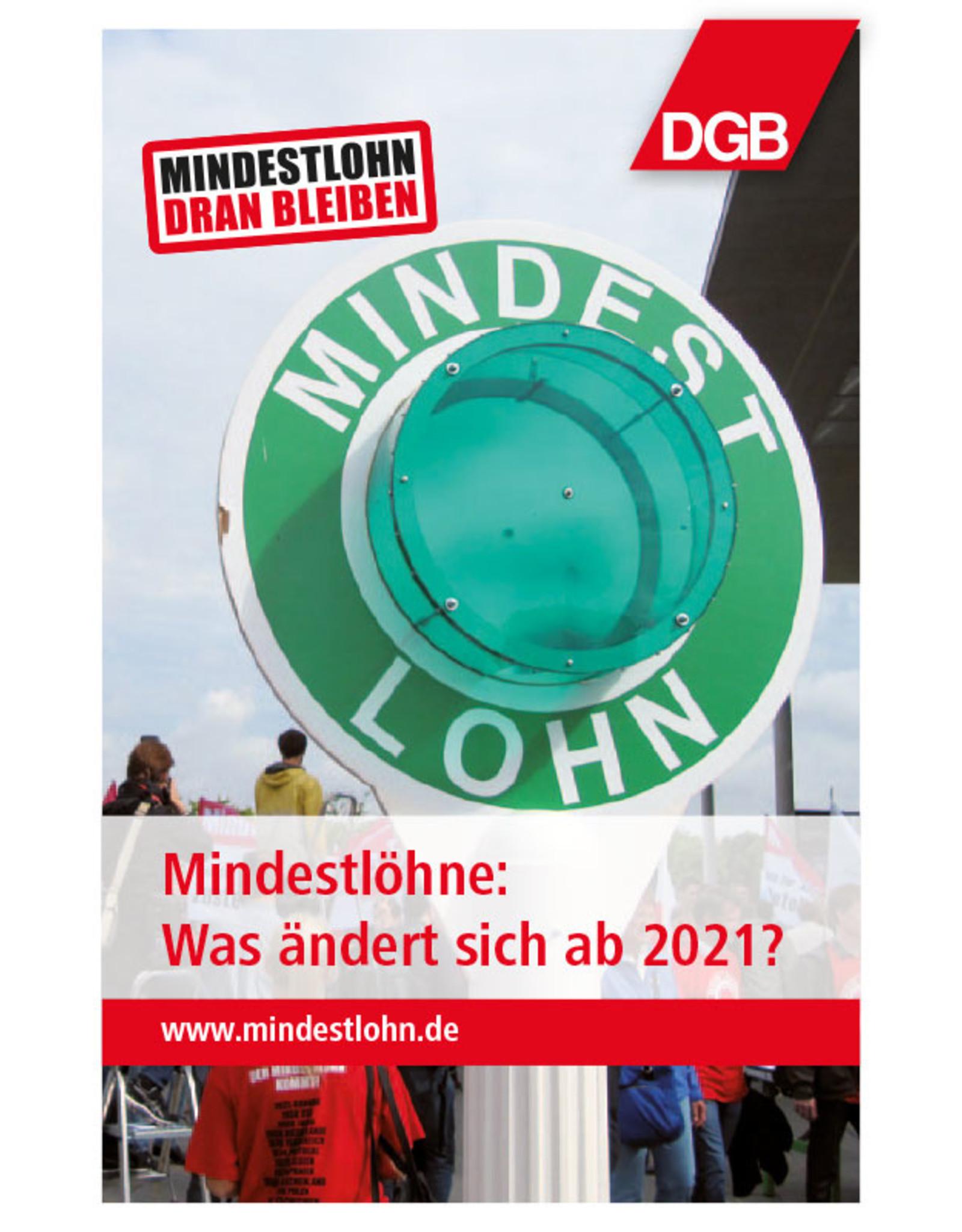 DGB-Broschüre Mindestlohn