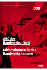 """DGB-Broschüre """"ABC der Handwerksarbeit"""""""