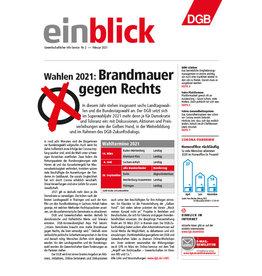 Zeitung einblick Februar 02/2021