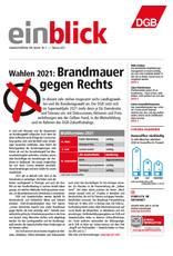Zeitung einblick Januar 01/2021