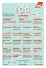 Plakat 100 Jahre Frauenwahlrecht