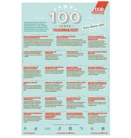 Poster 100 Jahre Frauenwahlrecht