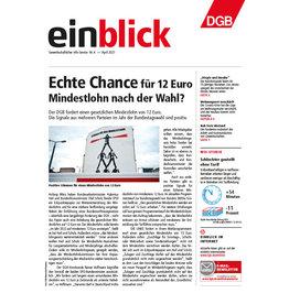 Zeitung einblick April 04/2021
