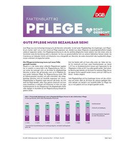Faktenblatt #2 Pflege