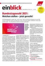 Zeitung einblick Juni 06/2021