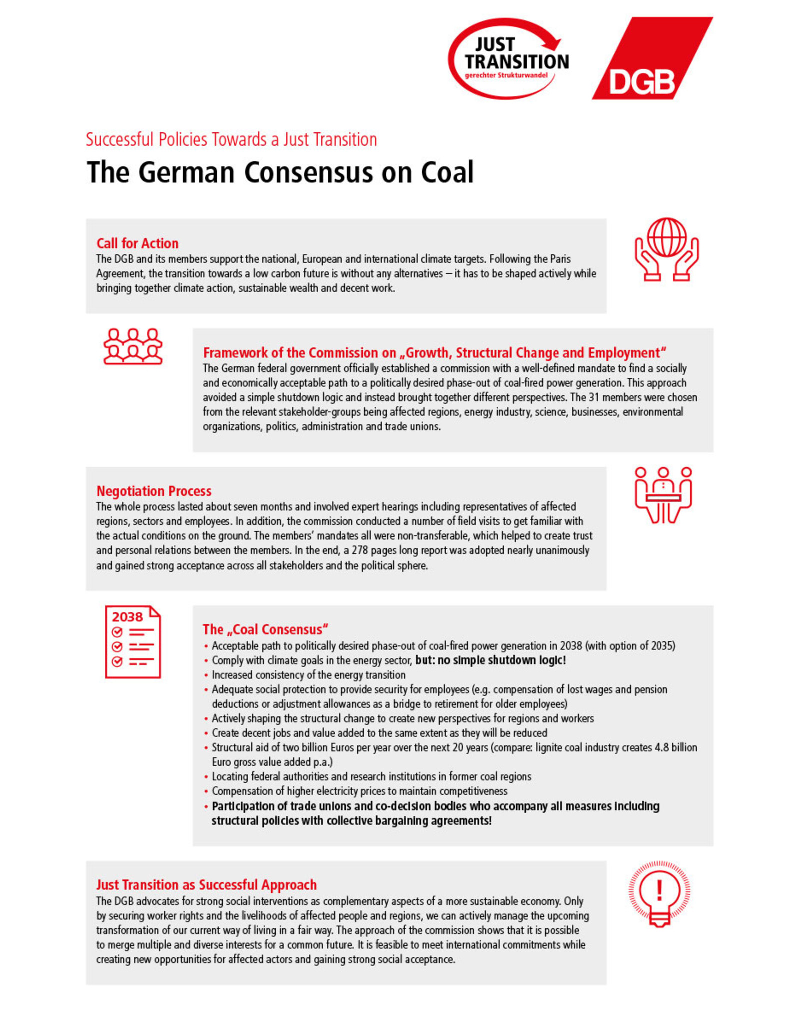 The German Consensus on Coal