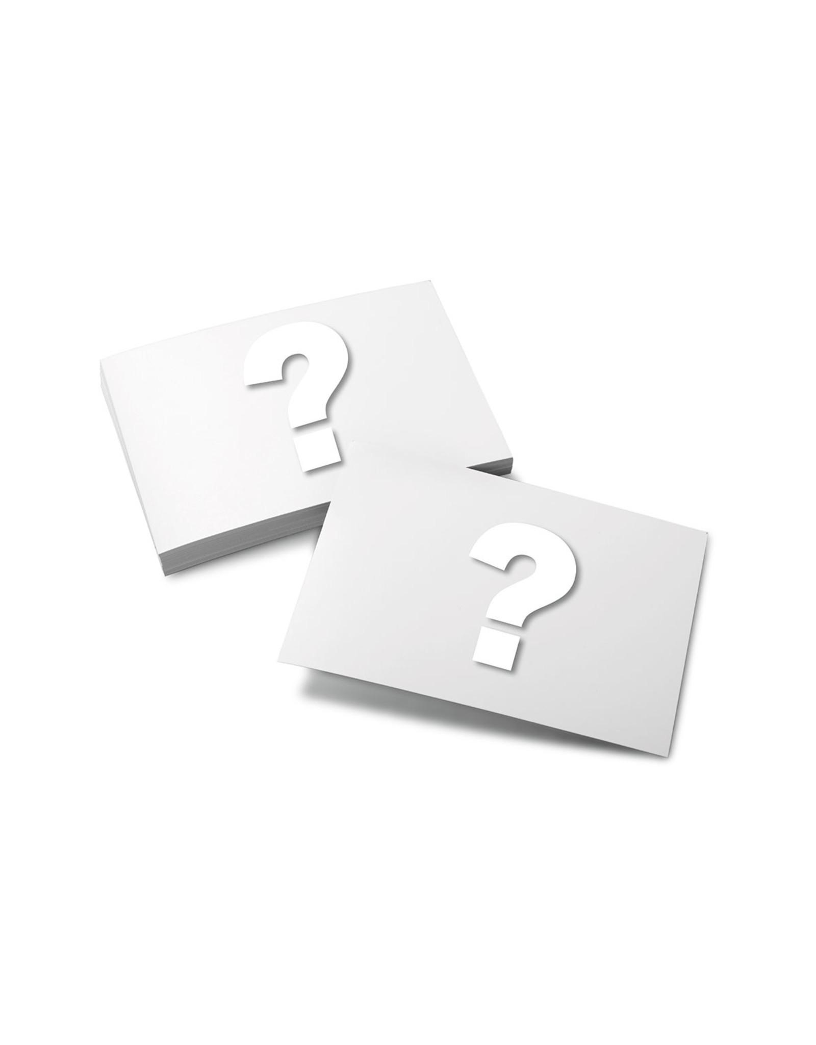 Moderationskarten mit einem individuellen Logo