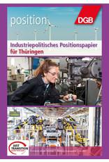 Industriepolitisches Positionspapier für Thüringen