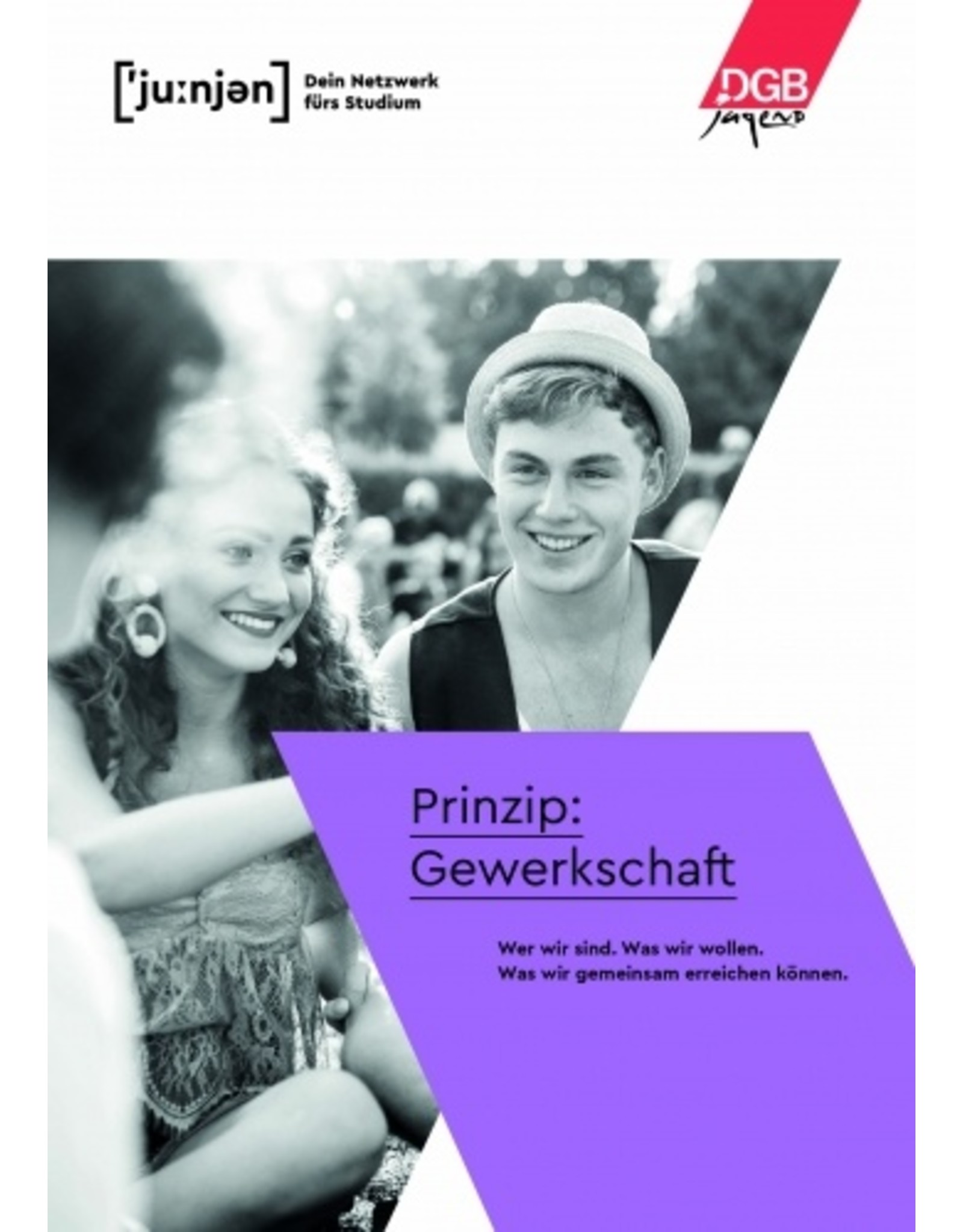 Broschüre Prinzip Gewerkschaft für Studierende
