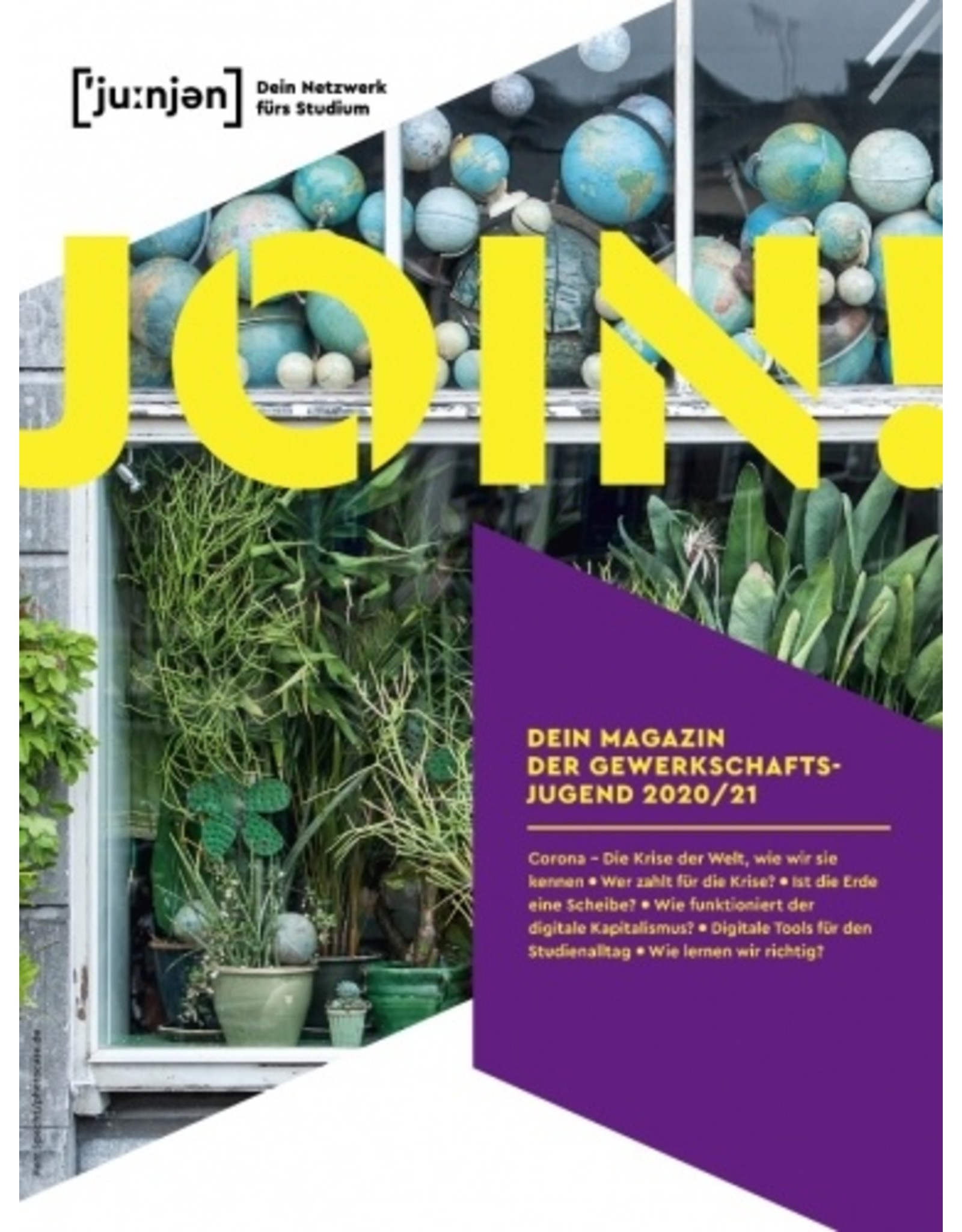 join! Das neue Magazin der DGB-Jugend für Studierende - 2.Ausgabe