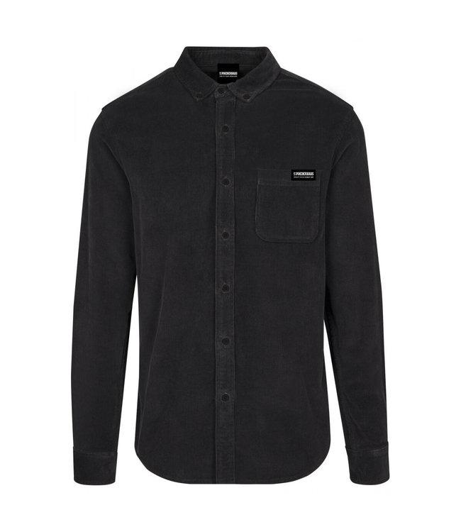 Zwart Corduroy Shirt