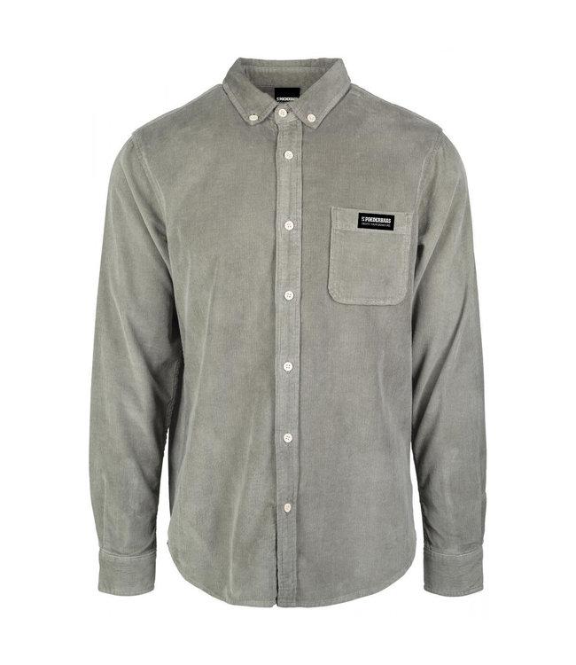 Olijf groen Corduroy Shirt