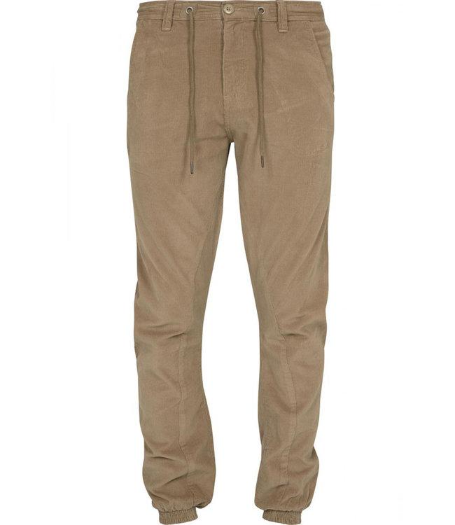 Beige Corduroy pants from Poederbaas