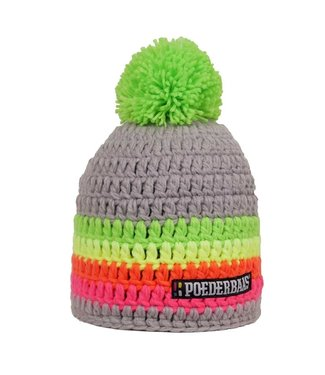 Colorful hat - Gray / green / yellow / orange