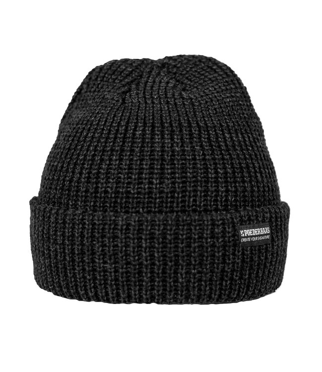 The Royal Ride beanie -  antraciet