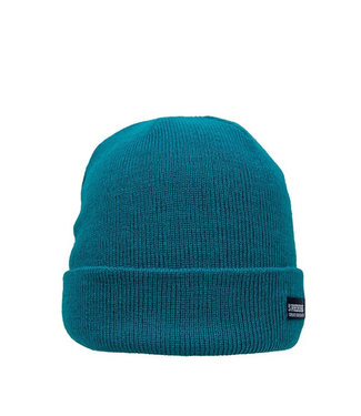 Colorful Basic beanie - donkergroen/teal