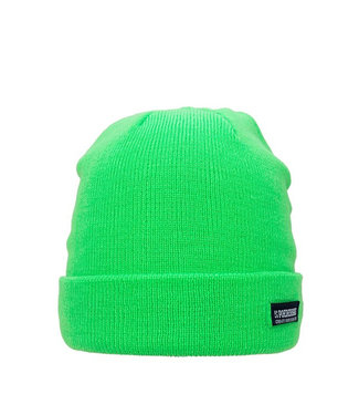 Colourful Basic beanie - licht groen