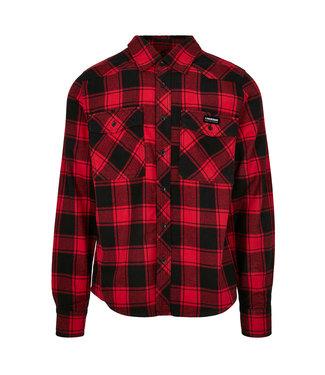 Flanel Shirt Rood/Zwart