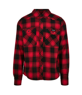 Flannel Shirt Red / Black