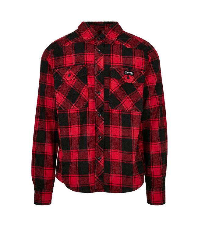 Flannel Shirt Red / Black