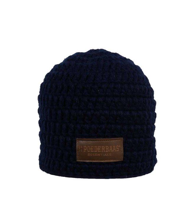 Crocheted hat blue