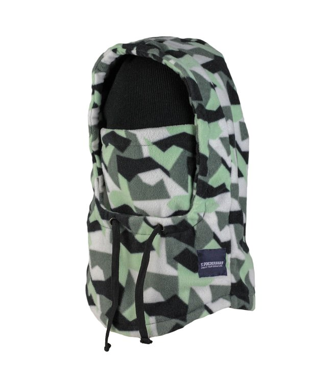 Camo fleece Balaclava van Poederbaas (facemask)
