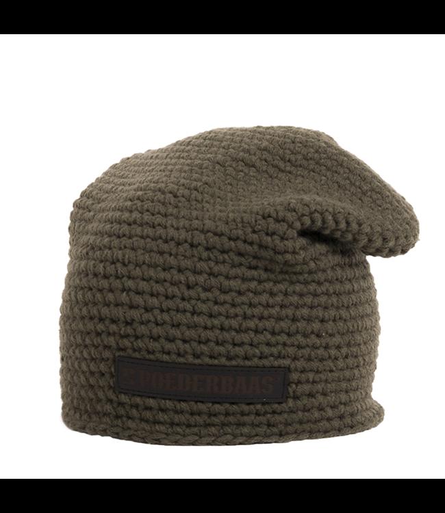 Winter sports hat long - green