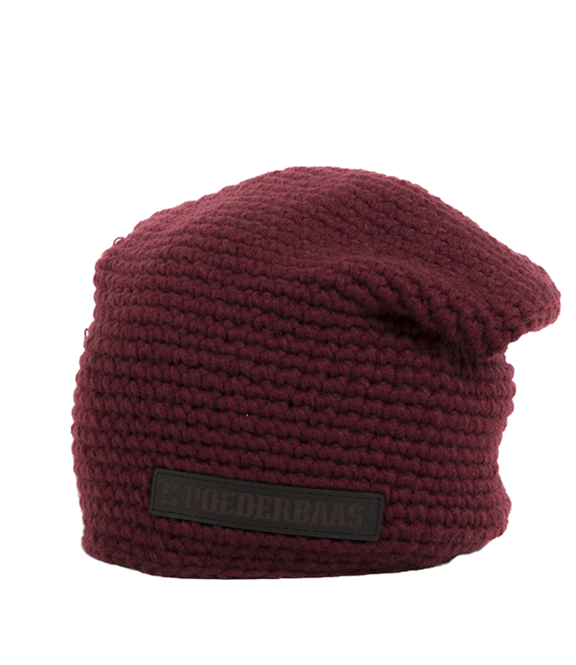 Winter sports hat urban - red