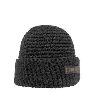 Wintersport muts - zwart