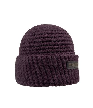 Wintersport muts - bordeaux rood