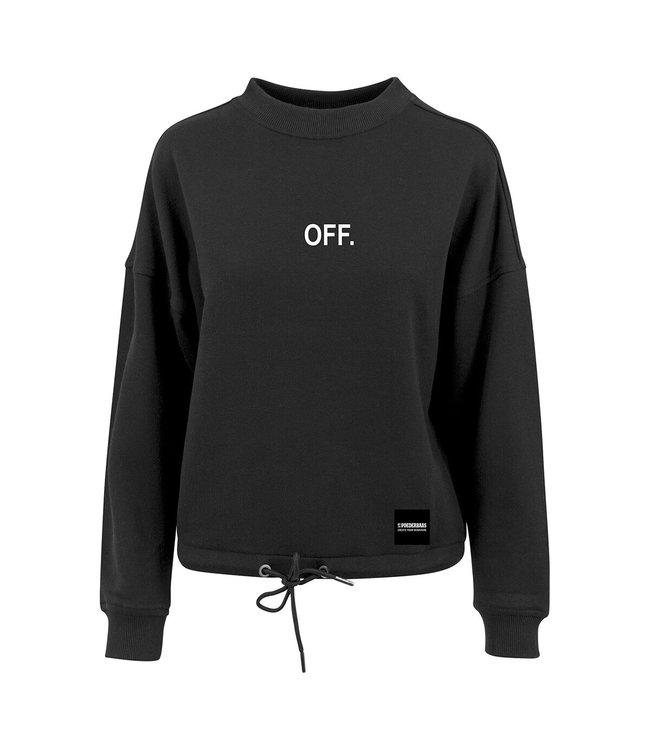 OFF. Crewneck Black