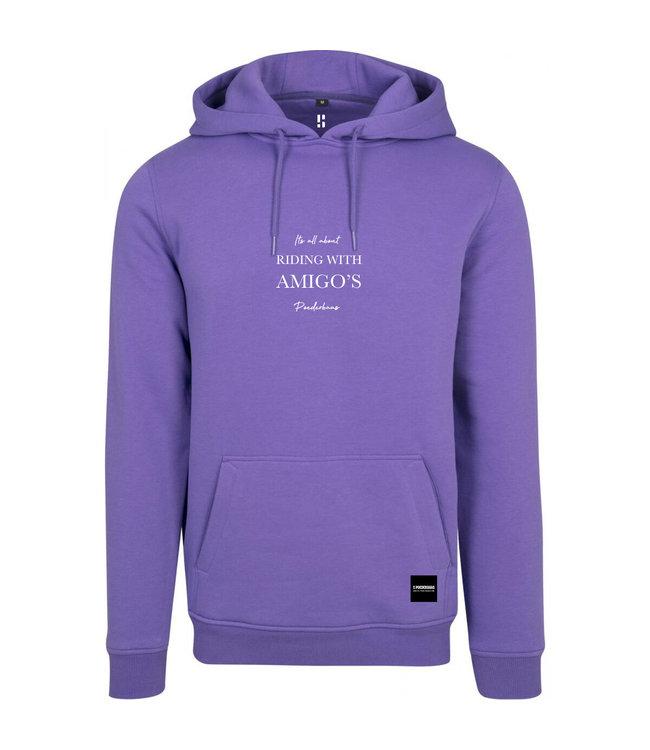 Riding with Amigos - purple