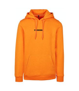 Oranje Hoodie van Poederbaas