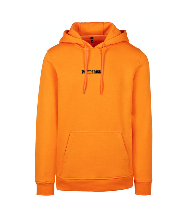 Orange hoodie from Poederbaas