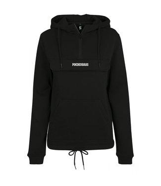 Kangaroo Hoodie Black for ladies
