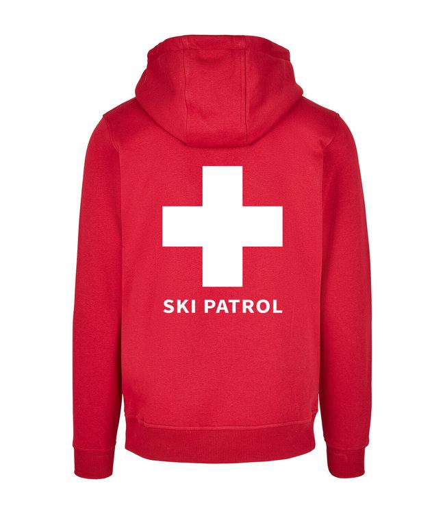Ski Patrol Hoodie Rood