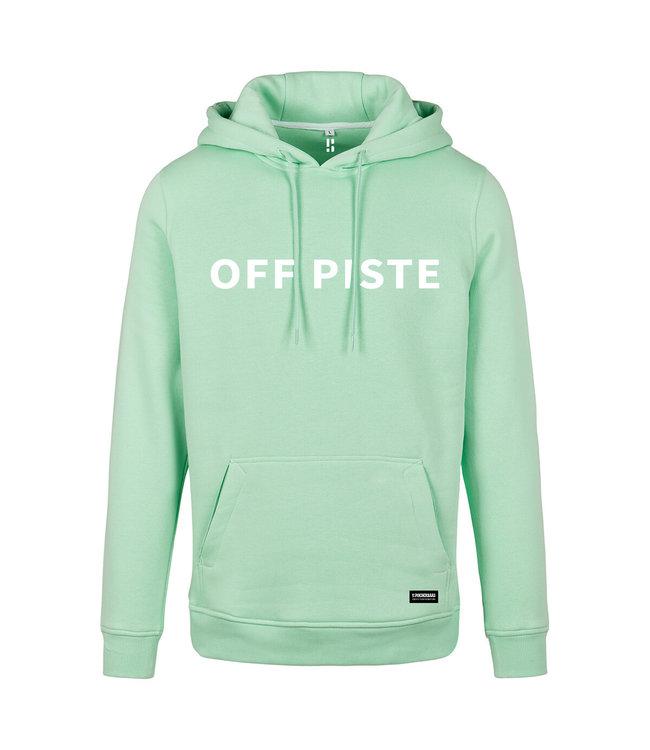 Off Piste Hoodie Green
