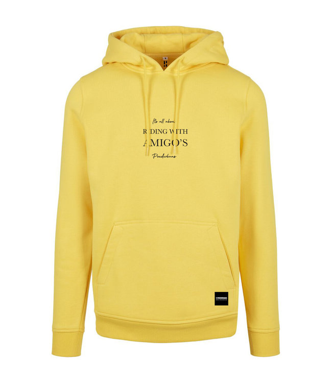 Riding with Amigo's Hoodie Yellow
