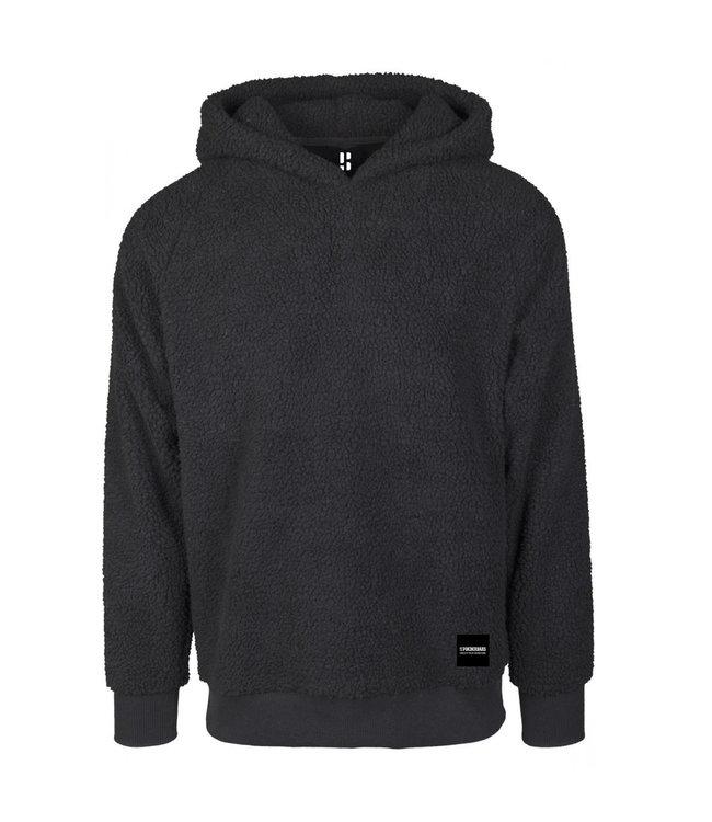 Sherpa Hoodie Black